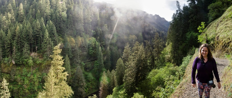 eagle creek trail | roof top camping location, oregon