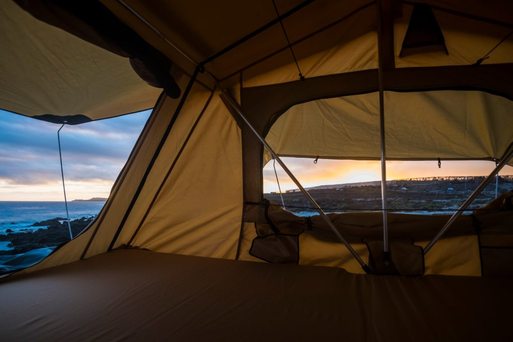 roof top tent comfortable