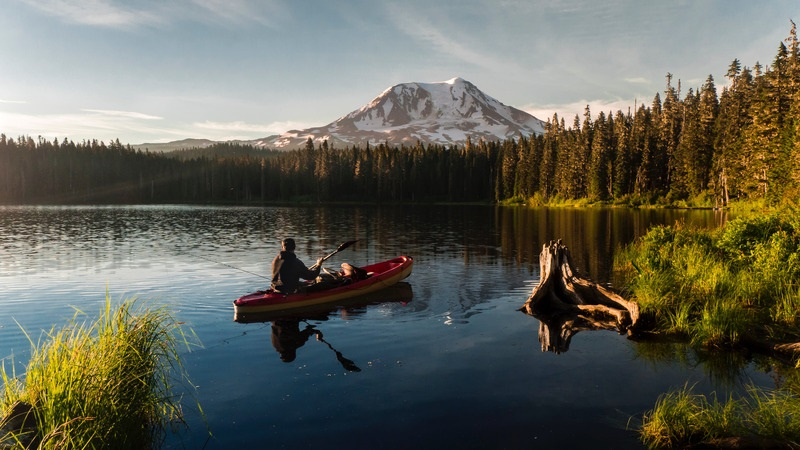 lost lake | roof top tent camping, oregon