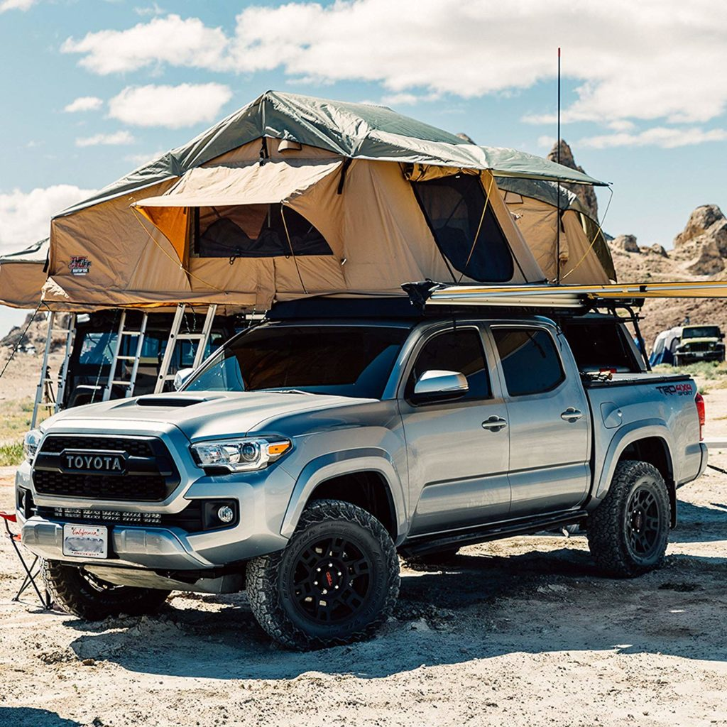 roof top tent camping in texas