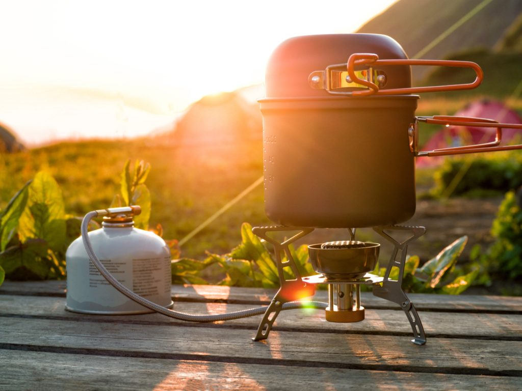 backpacking stove for camping